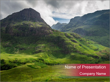 Scottish Highlands PowerPoint Template