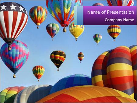 Bright Balloon Festival PowerPoint Template