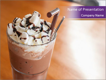 Tasty Mocha PowerPoint Template