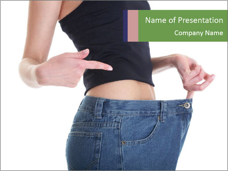 Successful Slimming PowerPoint Template