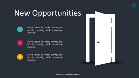 New Opportunities PowerPoint Infographics