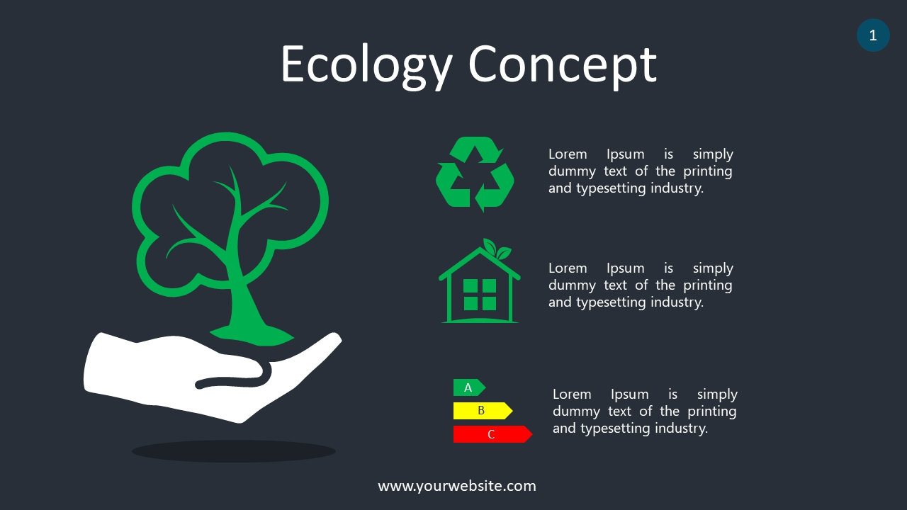 Energy Concept PowerPoint Infographics