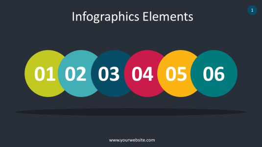 Creative Infographics Elements PowerPoint Infographics