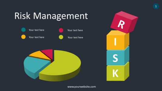 Risk Management PowerPoint Infographics