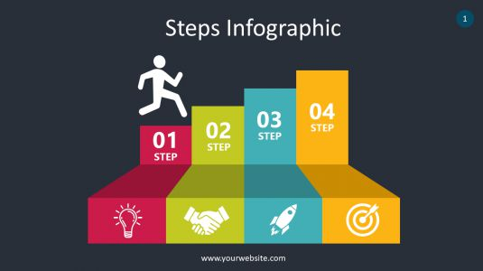 Steps Infographic PowerPoint Infographics