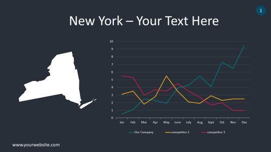 New York PowerPoint Infographics