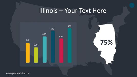 Illinois PowerPoint Infographics