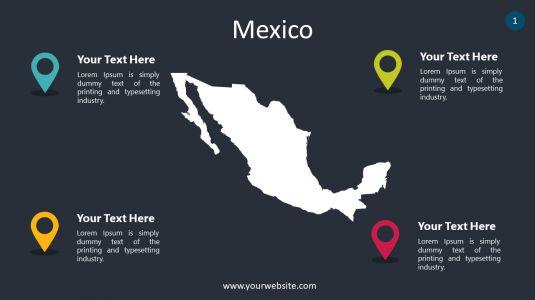 Mexico PowerPoint Infographics