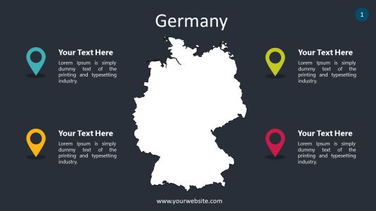 Germany PowerPoint Infographics