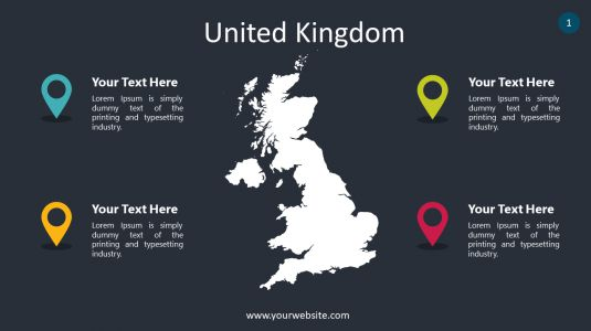 United Kingdom PowerPoint Infographics