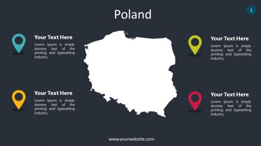 Poland PowerPoint Infographics