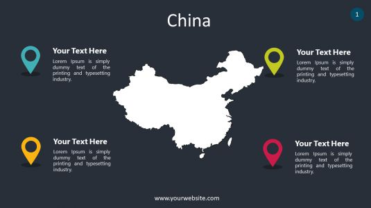 China PowerPoint Infographics