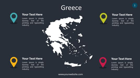Greece PowerPoint Infographics