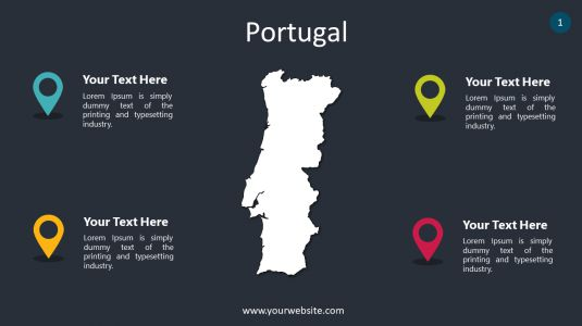 Portugal PowerPoint Infographics