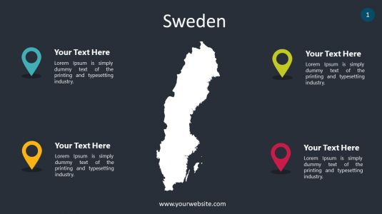 Sweden PowerPoint Infographics