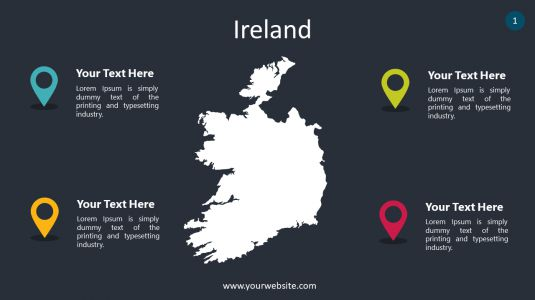 Ireland PowerPoint Infographics