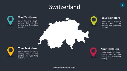 Switzerland PowerPoint Infographics