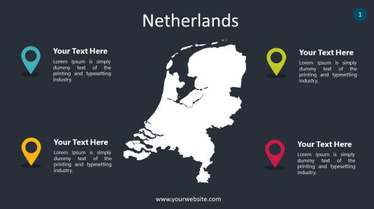 Netherlands PowerPoint Infographics