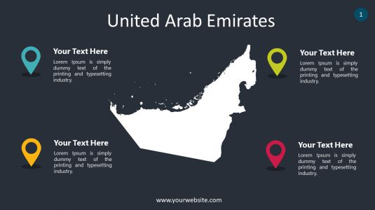 United Arab Emirates PowerPoint Infographics