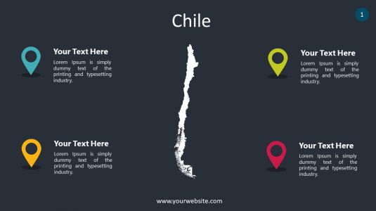 Chile PowerPoint Infographics
