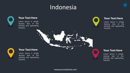 Indonesia PowerPoint Infographics