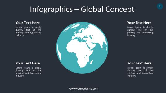 Infographics – Global Concept PowerPoint Infographics
