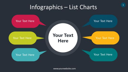 Infographics – List Charts PowerPoint Infographics