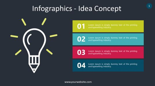 Infographics – Idea Concept PowerPoint Infographics