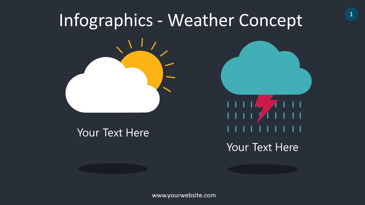 Infographics – Weather Concept PowerPoint Infographics