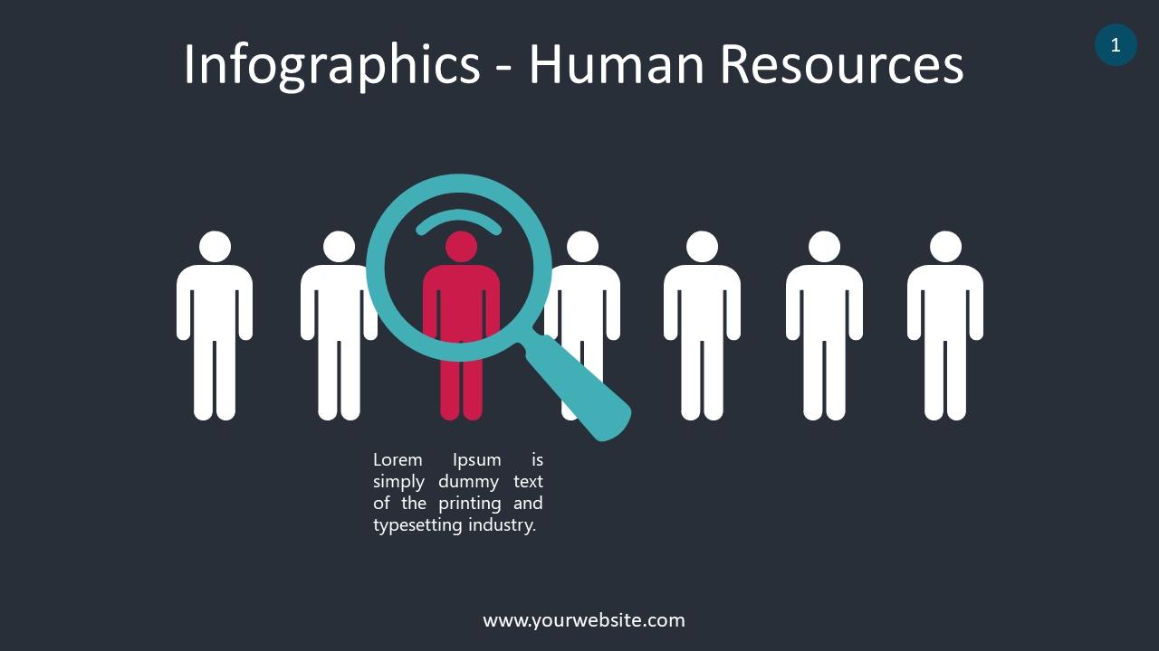 Infograhics – Human Resources PowerPoint Infographics