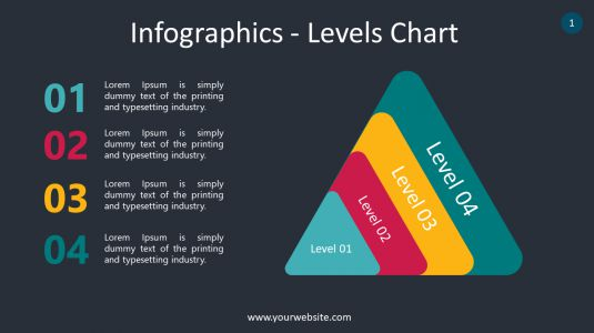 Infographics – Levels Chart PowerPoint Infographics