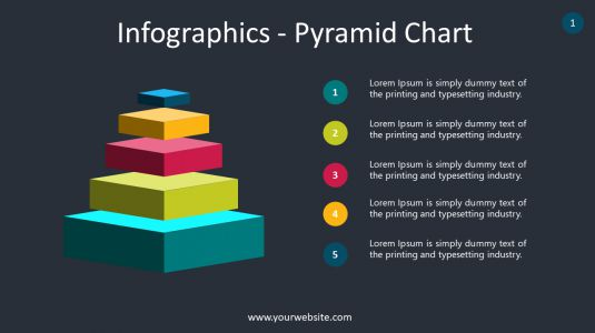 Infographics – Pyramid Chart PowerPoint Infographics
