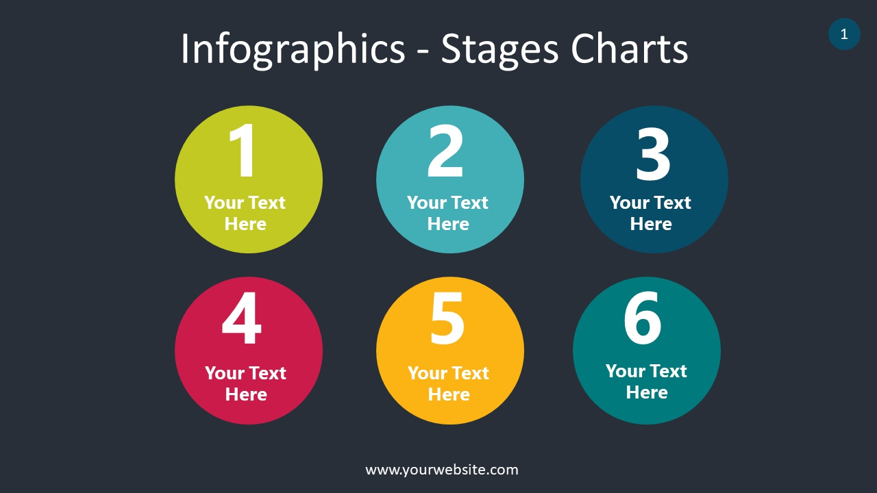 Infographics – Stages Charts PowerPoint Infographics