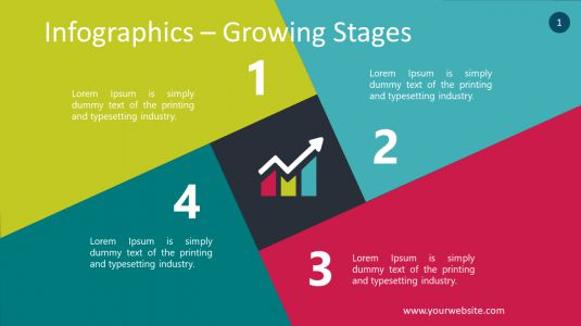 Infographics – Growing Stages PowerPoint Infographics