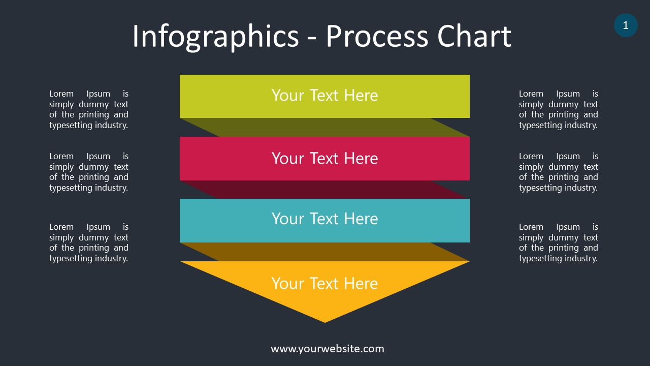 Infographics – Process Chart PowerPoint Infographics