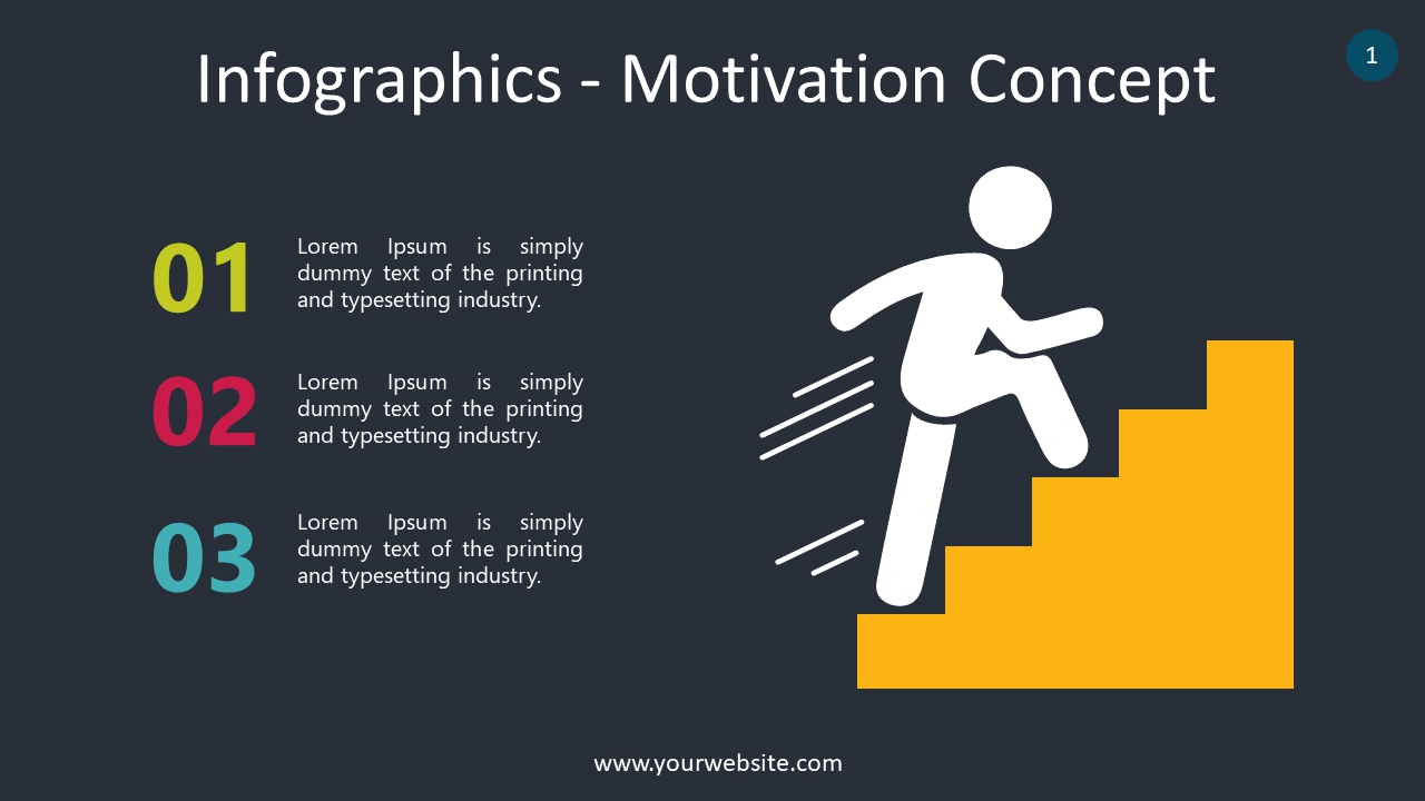 Infographics – Motivation Concept