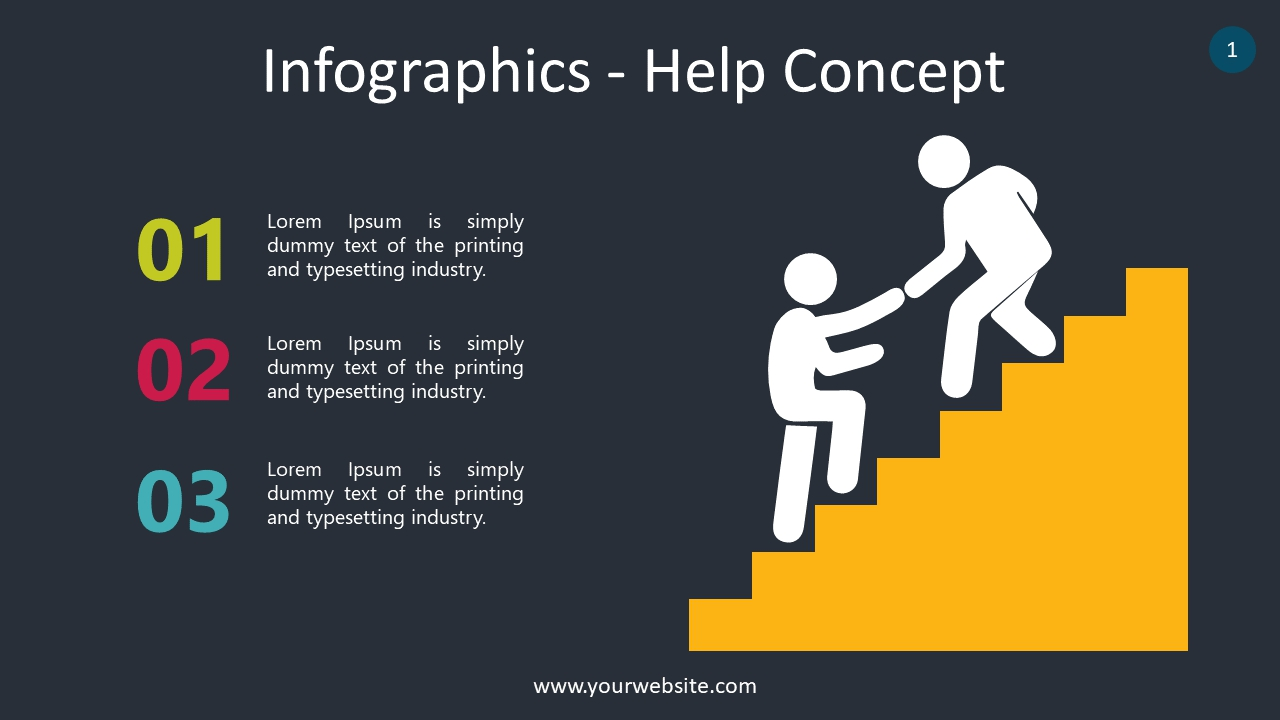 Infographics – Help Concept
