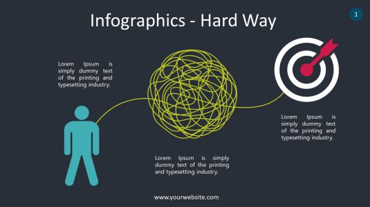Infographics – Hard Way