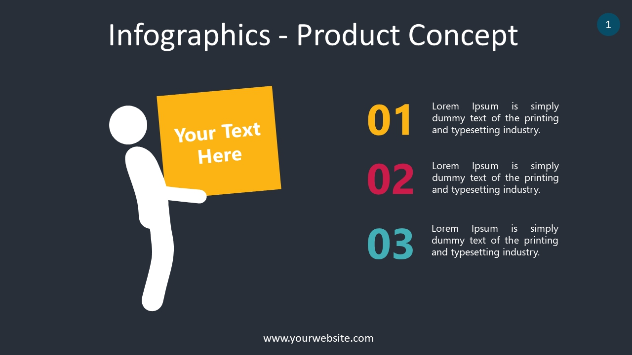 Infographics – Product Concept PowerPoint Infographics