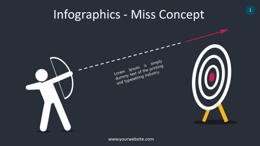 Infographics – Miss Concept PowerPoint Infographics