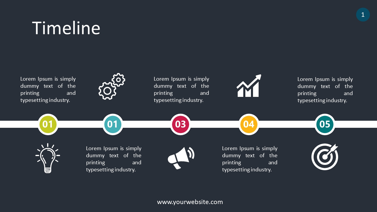 Timeline PowerPoint Infographics