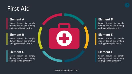 First Aid PowerPoint Infographics