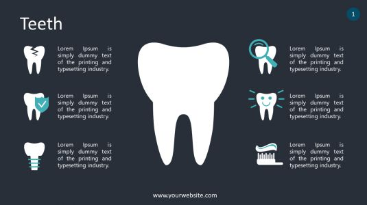 Teeth PowerPoint Infographics