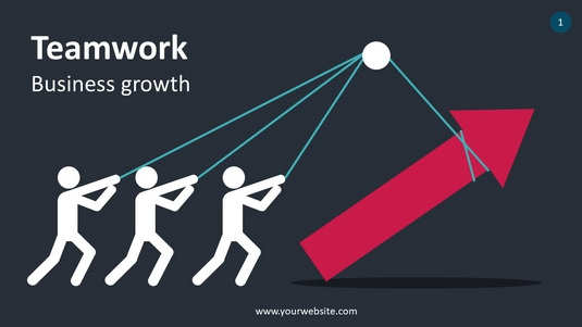 Teamwork PowerPoint Infographics