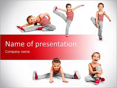 Yoga for Kids Modelos de apresentações PowerPoint