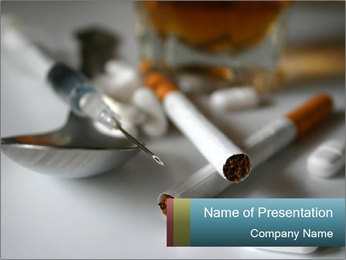 Drugs - PowerPoint Template - SmileTemplates com
