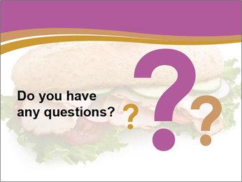 Super Delicious Sandwich PowerPoint Template