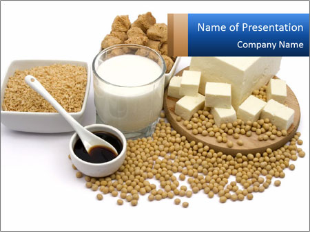 Soy Products PowerPoint Template & Infographics Slides