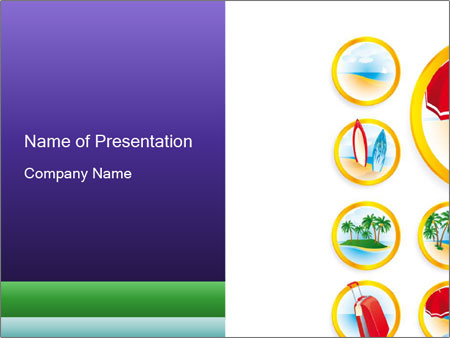 Set of Travel Pictures PowerPoint Template