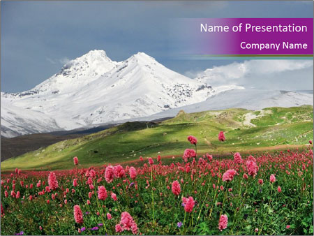 Travel to Armenia PowerPoint Template